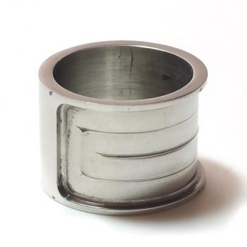 Edelstahl Ring R107 Gr. 17