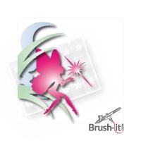 Airbrushschablone selbstklebend MIX04