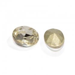 """5 Stück Kristall """"oval"""" Crystal 8x6mm"""