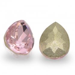 "3 Stück Kristall ""DROP"" Rose 10x7mm"