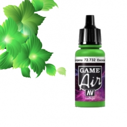 Vallejo Game Air 17ml *Escorpena Green* 732*