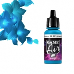 Vallejo Game Air 17ml *Electric Blue* 723*