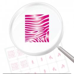 Airbrushschablone selbstklebend PR02
