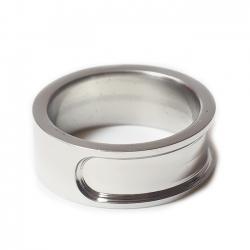 Edelstahl Ring R106