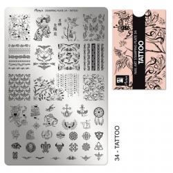 "Moyra Stamping ""Tattoo"""