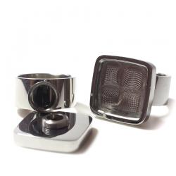 Edelstahl Ring R130 - Gr. 18