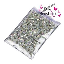 1440 Stück BlingBling Nailart-Strasssteine *Crystal AB*