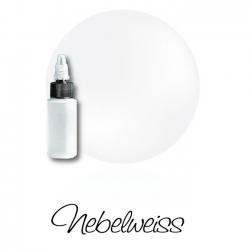 Airbrushfarbe: Nebelweiss