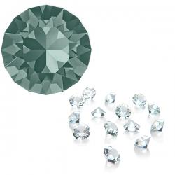 SWAROVSKI® 1088 Black Diamond unfoiled PP24