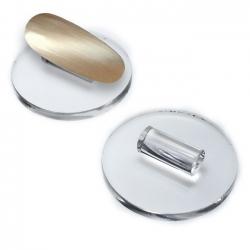 Acrylglas-Tiphalter *RUND*
