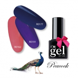 I'M gel: Peacock No. R0177*nonSticky