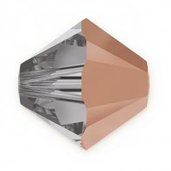24 Stück SWAROVSKI® 5328 Bicone Rose Gold 6mm