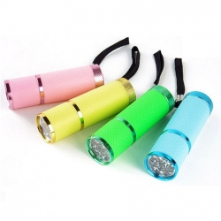 Mobile LED/UV Mini Lampe rosa