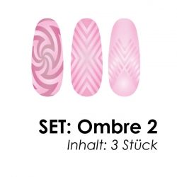 SET: Airbrushschablone Ombre 2