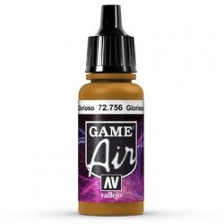 Vallejo Game Air 17ml *Glorious Gold* 756*