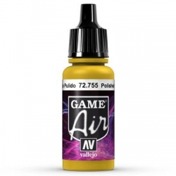 Vallejo Game Air 17ml *Polished Gold* 755*