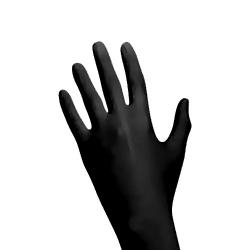 """Nitril Handschuhe """"Black Wave"""""""