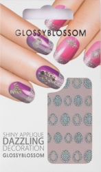 Nail-Sticker Glossy Blossom No. 591