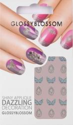 Nail-Sticker Glossy Blossom No. 589