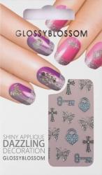 Nail-Sticker Glossy Blossom No. 590