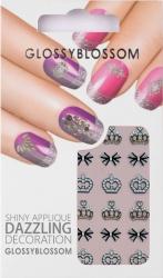 Nail-Sticker Glossy Blossom No. 588