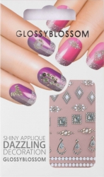 Nail-Sticker Glossy Blossom No. 632