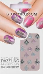 Nail-Sticker Glossy Blossom No. 593