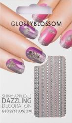 Nail-Sticker Glossy Blossom No. 596
