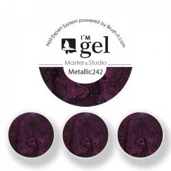 I'M gel EXPERT: Color Gel Metallic No. 242