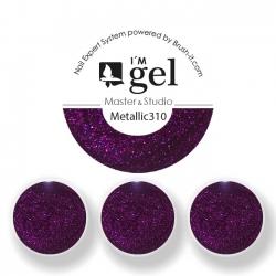 I'M gel EXPERT: Color Gel Metallic No. 310