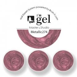 I'M gel EXPERT: Color Gel Metallic No. 274