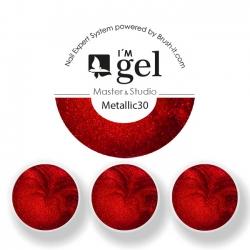 I'M gel EXPERT: Color Gel Metallic No. 30