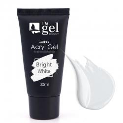 I'M gel: Acryl-Gel TUBE *BRIGHTwhite*