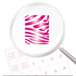 Airbrushschablone selbstklebend PR15