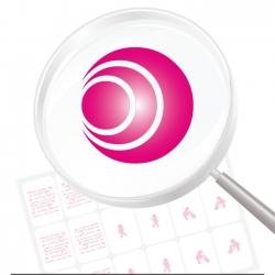 Airbrushschablone selbstklebend EM06
